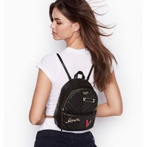 Victoria' Secret Embellished V Quilt City Backpack